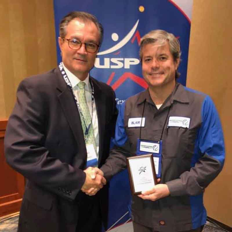 2018 USPTA Texas Sales Rep Of The Year Award Dinner