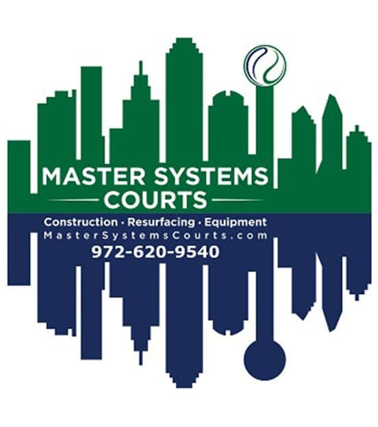 Master Systems Courts Large Logo With Details