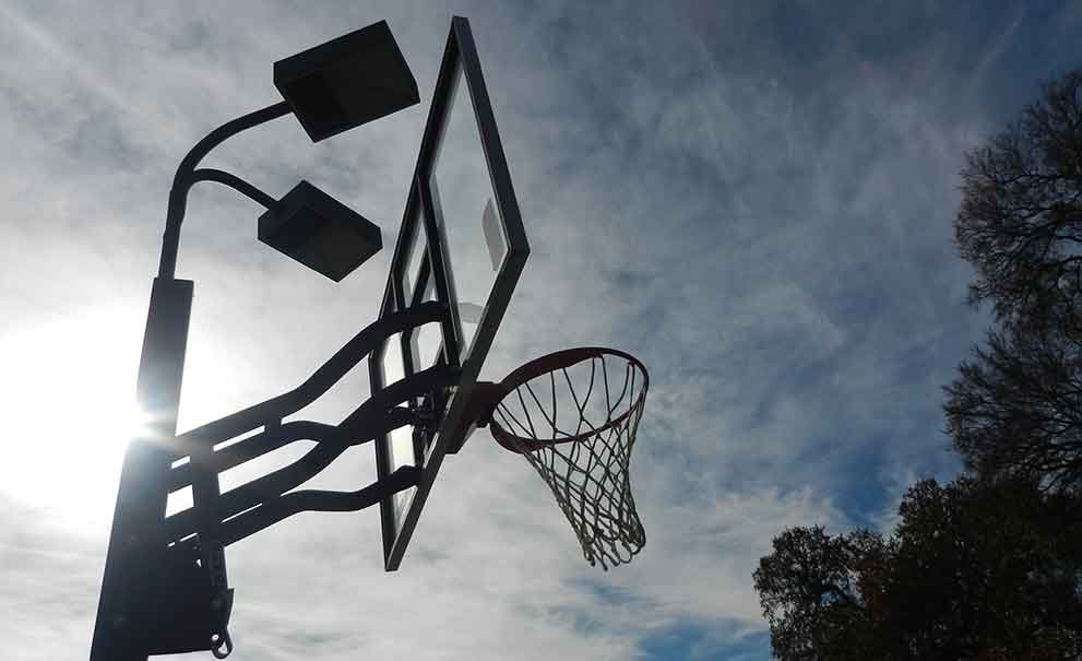 Master Systems Courts Basketball Goals and Backboards Sample