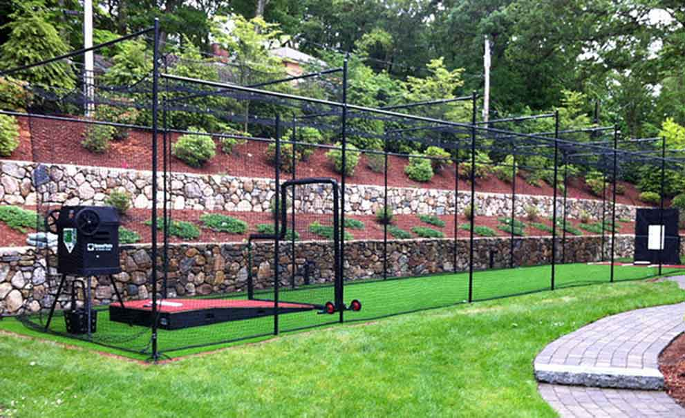 Master Systems Courts Baseball Batting Cage Sample