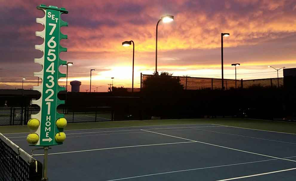 Best Lighting Lights LEDs for Tennis Courts in Dallas | Master ...
