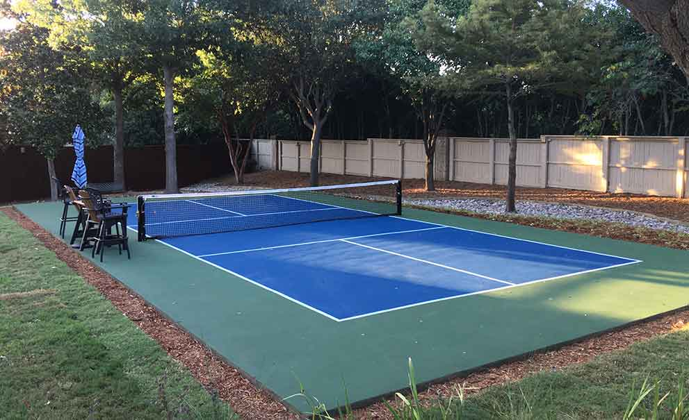Master Systems Courts Pickleball Court Sample